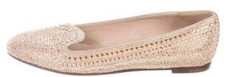 Valentino Studded Suede Flats