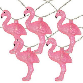 The Party Aisle Flamingo Summer 5.5 ft. 10-Light Novelty String Light The Party Aisle