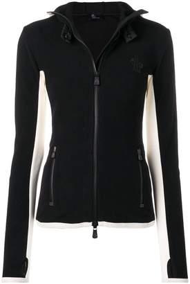Moncler hooded sports jacket
