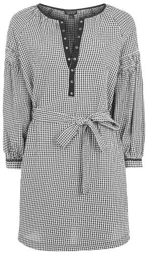 Women's Topshop Gingham Smock Dress 2
