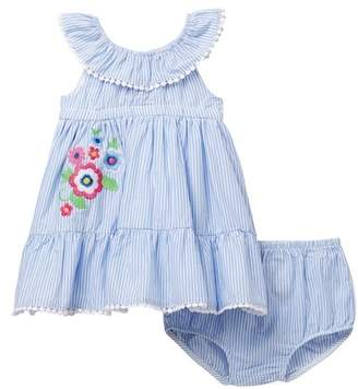 Little Me Floral Sundress Set (Baby Girls)