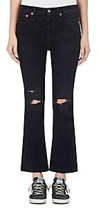 R 13 Women's Kick Fit Crop Jeans