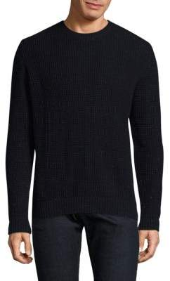 Barbour Wool-Cotton Ribbed Sweater