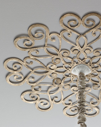 Horchow Scrolled Ceiling Medallion