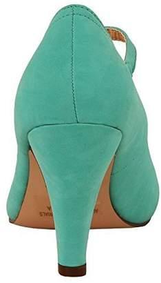 Chloé Chase & Kimmy-21 Women's Round Toe Pierced Mid Heel Mary Jane Style Dress Pumps (9 B(M) US, )