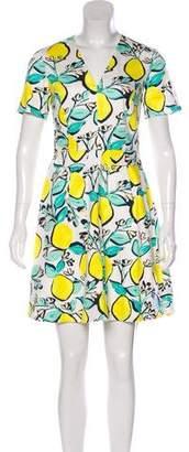 Draper James Short Sleeve Mini Dress