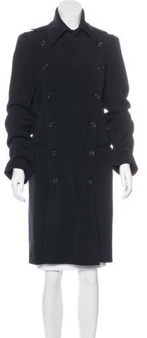 Ann Demeulemeester Ann Demeulemeester Double-Breasted Long Coat