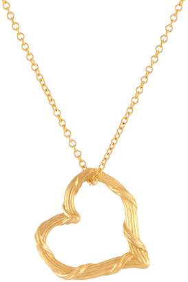 c34ee7d0a2 Peter Thomas Roth 18K Heritage Open Heart Penda nt w/ Chain