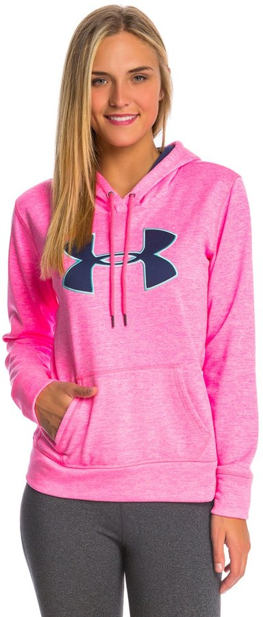 Under Armour Women's Storm Armour Fleece Big Logo Twist Hoody 8134694
