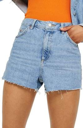 Topshop Denim Mom Shorts
