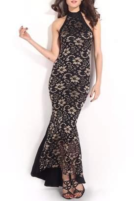 Adore Clothes & More Lace Long Dress
