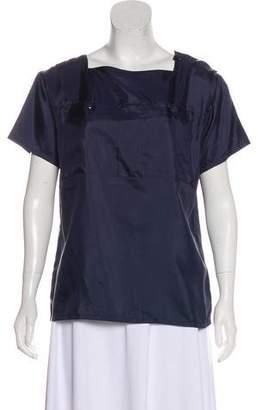 Courreges Short Sleeve Blouse