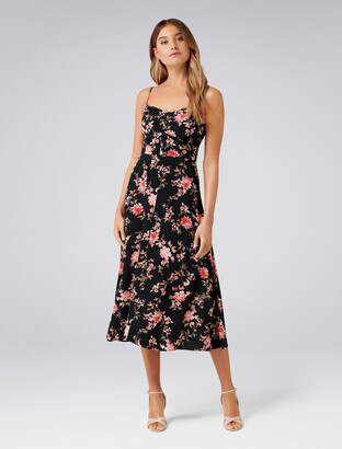 ec71e718d2 Forever New Abigail Slip Dress - Oriental trailling floral - 4