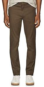 ATM Anthony Thomas Melillo Men's Cotton Slim Trousers - Md. Green