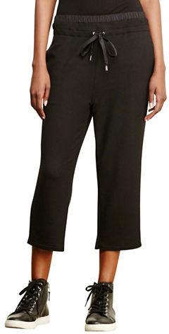 Lauren Ralph Lauren Cropped Drawstring Pants