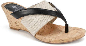 White Mountain Alanna Wedge Sandal - Women's
