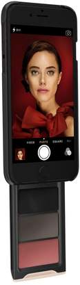 Pout Case - Phone Makeup Case For iPhone Black/Gold - Get Your Glam On