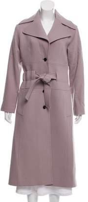 Dolce & Gabbana Long Virgin Wool Coat