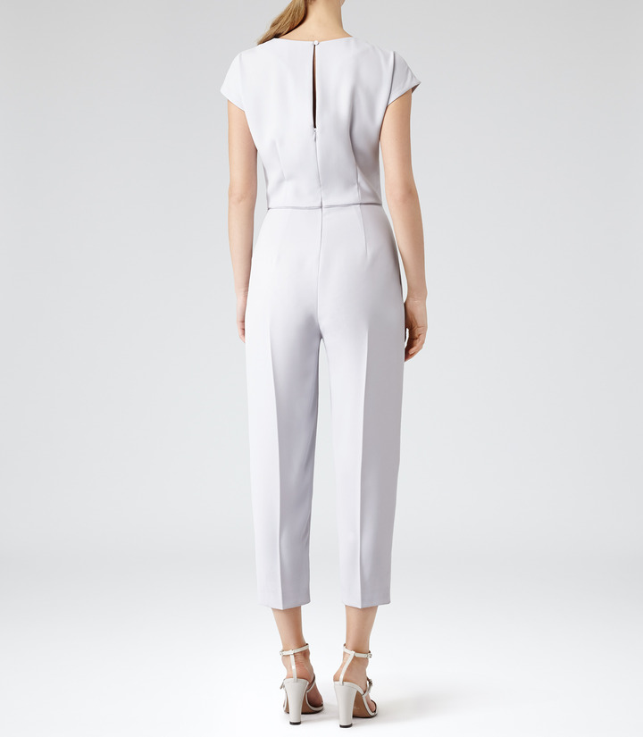 Reiss Roco CROPPED JUMPSUIT