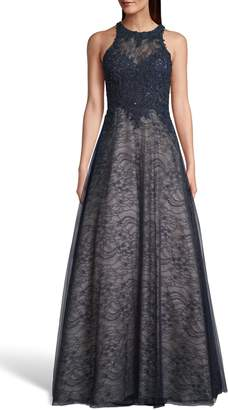 Xscape Evenings Sparkling Lace Evening Dress