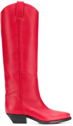 P.A.R.O.S.H. knee-high boots