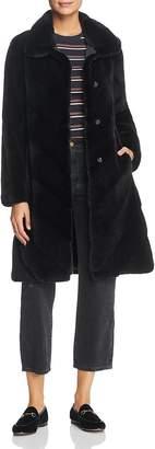 Maximilian Furs x Z.RHODES Plucked Mink Fur Coat