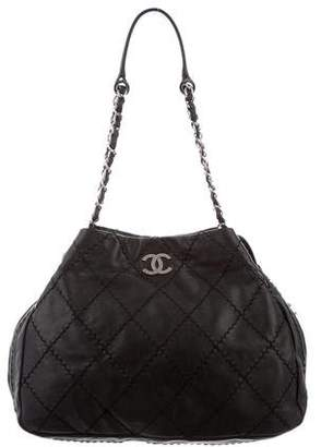 Chanel Ultimate Stitch Expandable Hobo
