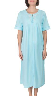 Jasmine Rose Embroidered Night Gown