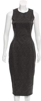 Kimberly Ovitz Brocade Midi Dress w/ Tags