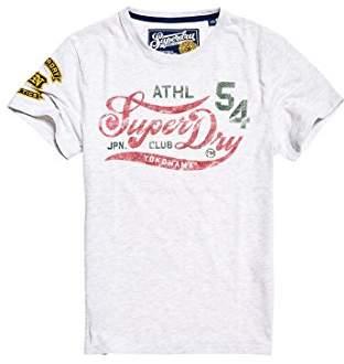 Superdry Men's Academyatheltictee T-Shirt,(Manufacturer Size: 2XL)