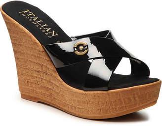 Italian Shoemakers Selina Wedge Sandal - Women's