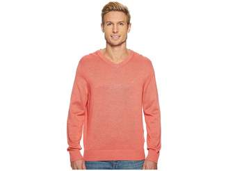 Nautica 12 Gauge Basic V-Neck Sweater Men's Sweater