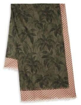 Dries Van Noten Floral Cotton Scarf
