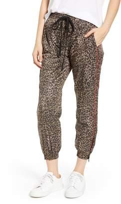 Pam & Gela Leopard Print Track Pants
