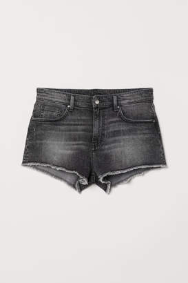 H&M Denim Shorts - Gray