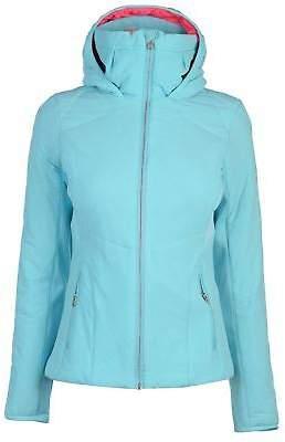 Spyder Womens Nynja Hoody Ski Jacket Hoodie Hooded Top Coat