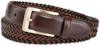 STAFFORD Stafford Leather Braided Men's Belt