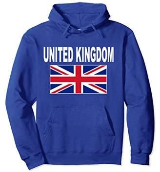 United Kingdom Flag Hoodie Cool Union Jack British Flags