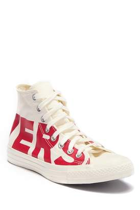 Converse Chuck Taylor All Star High Top Printed Sneaker (Unisex)