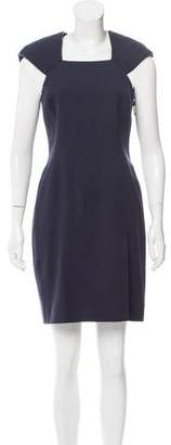 J. Mendel Structured Wool Dress