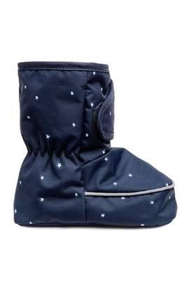 H&M Padded Slippers - Dark blue - Kids
