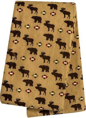 Trend Lab TREND LAB, LLC Northwoods Animals Deluxe Swaddle Blanket
