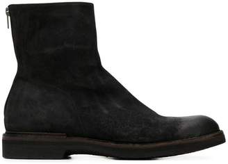 Pantanetti rear zip ankle boots