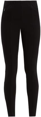 Balenciaga High-rise stirrup-hem skinny trousers