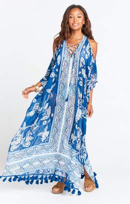Show Me Your Mumu Hana Boo Tassel Lace Up ~ Bohemian Babe