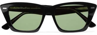 Acne Studios Ingridh Square-Frame Acetate Sunglasses - Men - Black