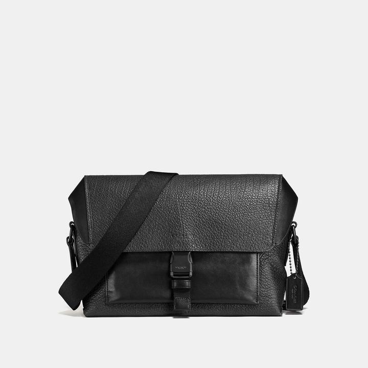 Coach  COACH Coach Manhattan Bike Bag In Mixed Leather