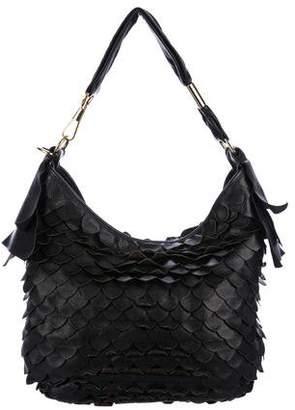 Saint Laurent St. Tropez Fish Scale Leather Bag