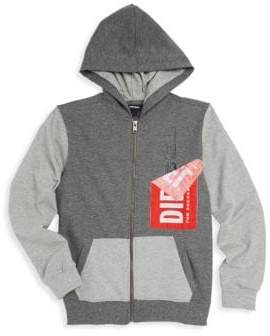 Diesel Boy's Two-Tone Hooded Jacket