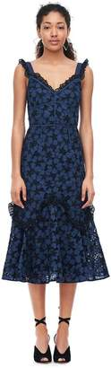 Rebecca Taylor Adriana Embroidered Dress